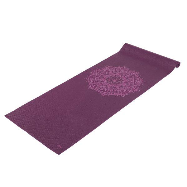 yoga mat mandala centric paars