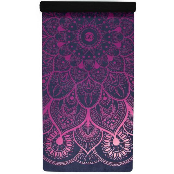 MiFlow mandala yoga mat paars