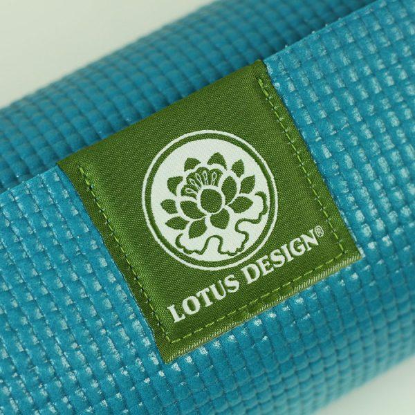 yoga mat lotus design trend turkoise
